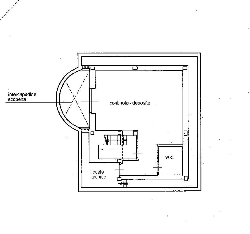 Planimetria Deposito